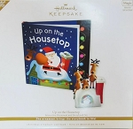 2010 Up on the Housetop, Interactive Ornament and Book Set