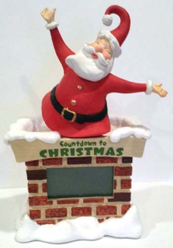 Hallmark MAGNET Christmas Vintage COUNTDOWN to COOKIE SHEET CARDINAL Bird