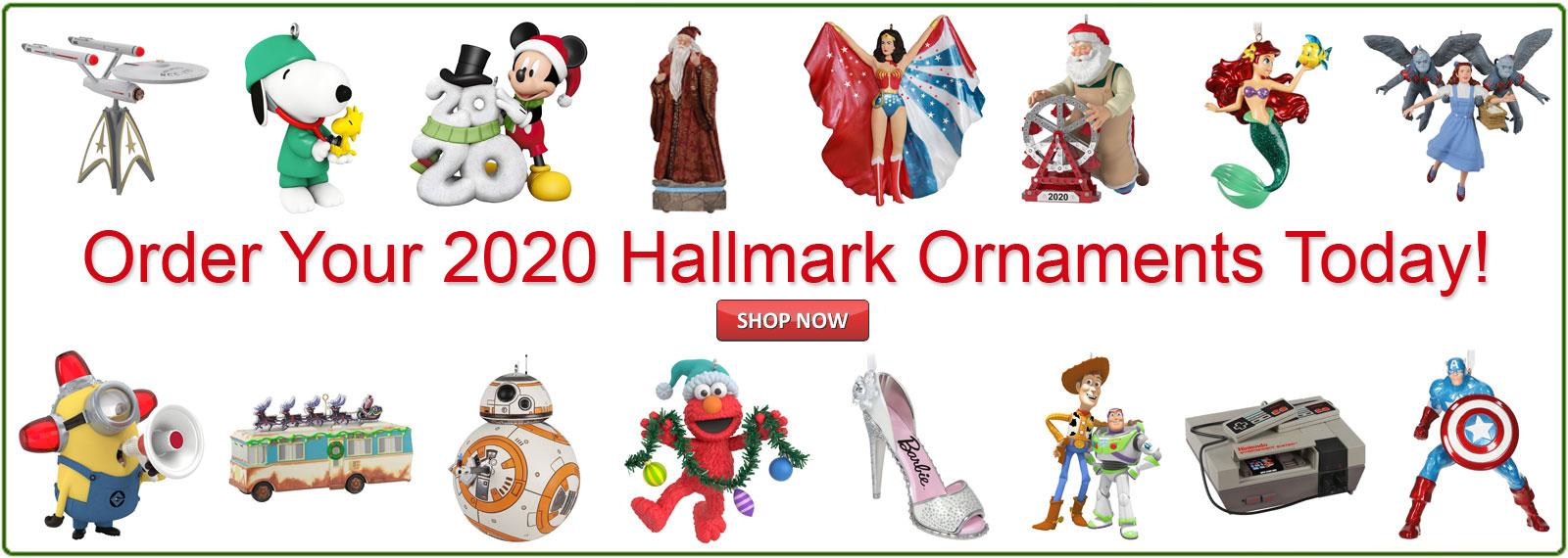 Hallmark Christmas Ornaments 2020 Buy Hallmark Keepsake Ornaments | Ornament Factory
