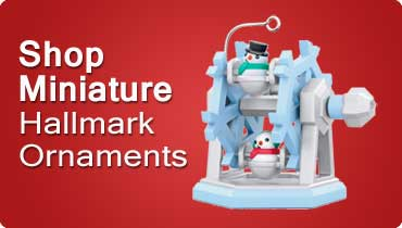 Shop Hallmark Miniature Ornaments
