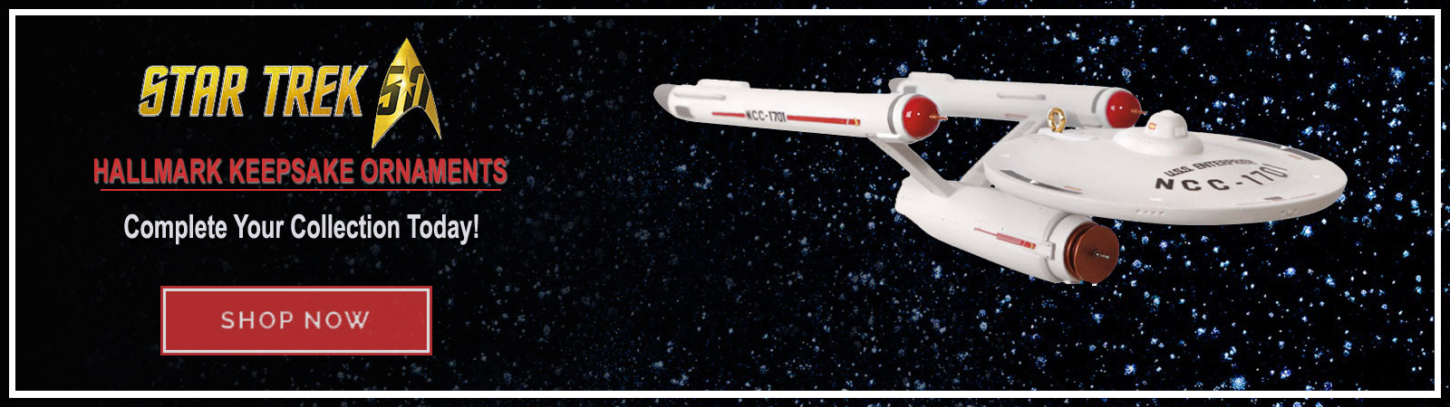 Buy Star Trek Hallmark Ornaments - Shop Now!