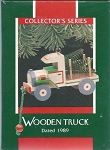 1989 Nostalgic Childhood - 6th and final wooden truck