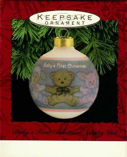 Hallmark Keepsake Ornament Baby/'s First Christmas