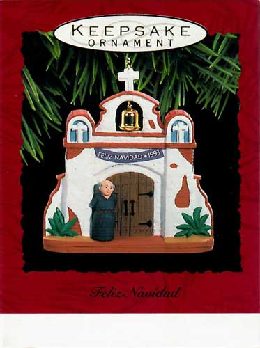 Hallmark Ornament 1993 Fetiz Navidad