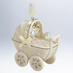 2012 Baby's First Christmas Porcelain Carriage