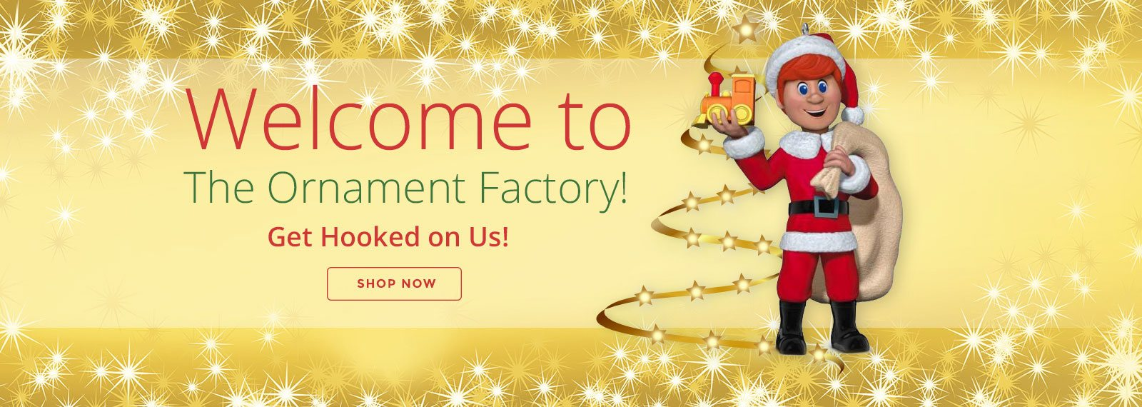 Hallmark Ornament Promotional Banner