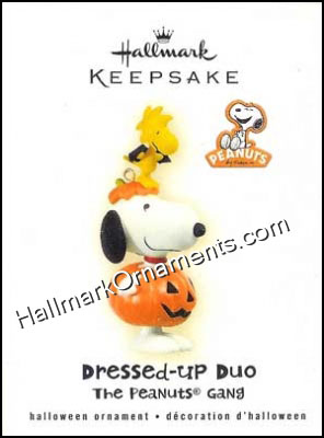 2009 Dressed-Up Duo, Halloween Peanuts