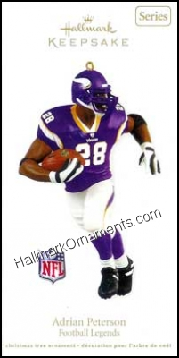 2011 Adrian Peterson, Football Legends #17