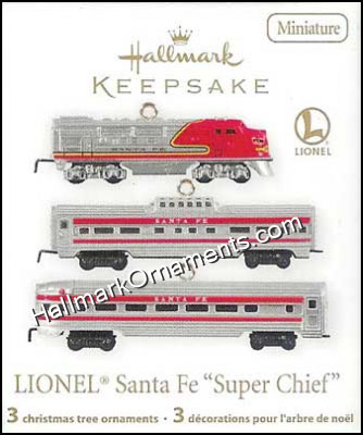 2011 Lionel Santa Fe Super Chief, Miniature