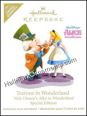 2011 Teatime In Wonderland, Disney, LIMITED QUANTITY