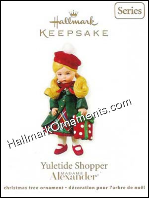 2011 Yuletide Shopper, Madame Alexander #16