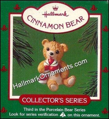 1985 Cinnamon Bear, Porcelain Bear #3
