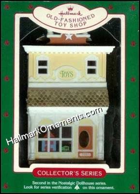 1985 Old Fashioned Toy Shop, Nostalgic Houses & Shops #2 - DB