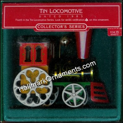 1985 Tin Locomotive #4