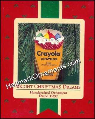 1987 Bright Christmas Dreams, Crayola