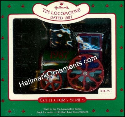 1987 Tin Locomotive #6