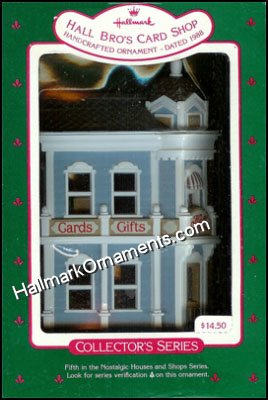 1988 Hall Bro's Card Shop, Nostalgic House #5