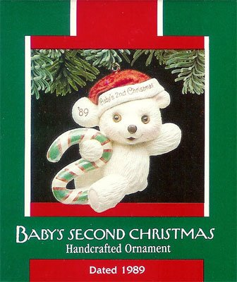 1989 Baby's Second Christmas