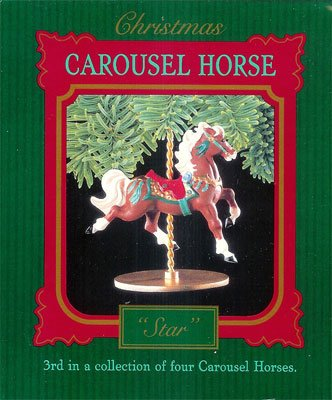 1989 Christmas Carousel Horse Collection, Ginger