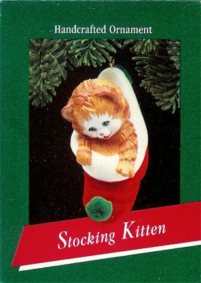1989 Stocking Kitten