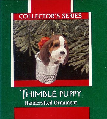 1989 Thimble - 12th & Final Thimble, Puppy