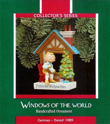 1989 Windows of the World - 5th Frohliche Weihnachten