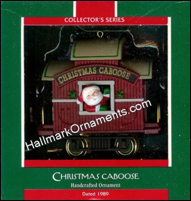 1989 Christmas Caboose, Here Comes Santa #11