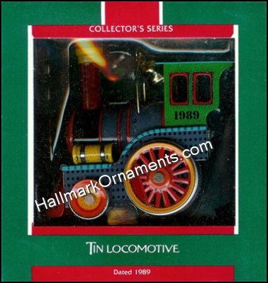 1989 Tin Locomotive #8