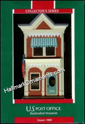 1989 U.S. Post Office, Nostalgic Houses & Shops #6 - DB