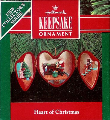 1990 Heart of Christmas -  1st  Santa Filling the Stockings