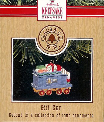 1991 Claus & Co. RR. - Gift Car