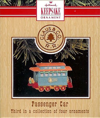 1991 Claus & Co. RR. - Passenger Car