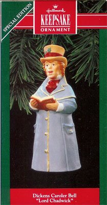 1992 Dickens Caroler Bell - 3rd  Lord Chadwick