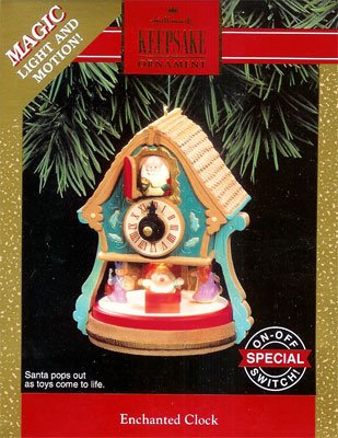 1992 Enchanted Clock