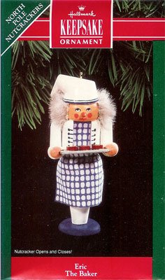 1992 Eric The Baker, North Pole Nutcrackers