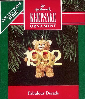 1992 Fabulous Decade -  3rd  Bear with Brass 1992