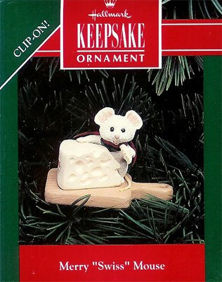 1992 Merry Swiss Mouse DB