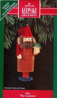 1992 Otto The Carpenter, North Pole Nutcrackers