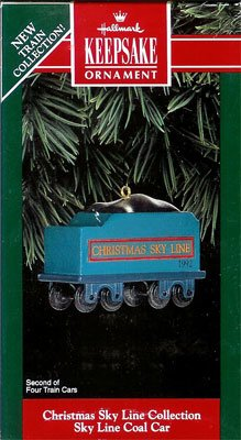 1992 Christmas Sky Line - Coal Car
