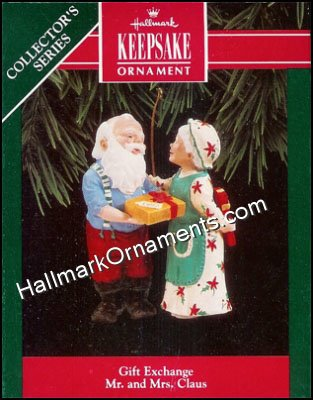 1992 Gift Exchange, Mr and Mrs Claus #7