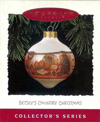 1994 Betsey's Country Christmas - 3rd & Final It's the Simple Joys