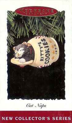 1994 Cat Naps - Cat in Cookie Jar #1