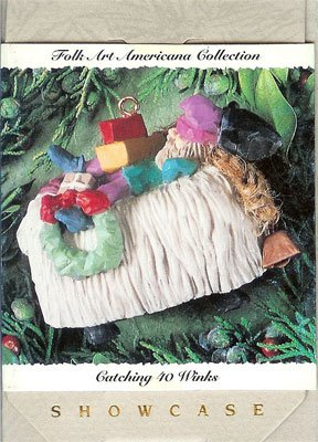 1994 Catching 40 Winks, Folk Art Americana