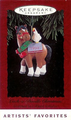 1994 Cock-a-Doodle Christmas