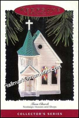 1995 Town Church, Nostalgic Houses & Shops #12