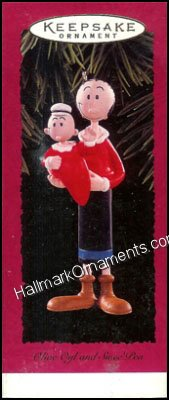 1996 Olive Oyl and Sweet Pea DB