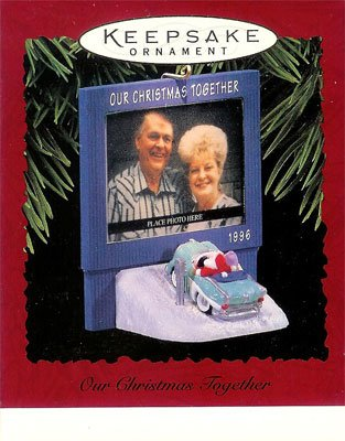 1996 Our Christmas Together-Photo Holder