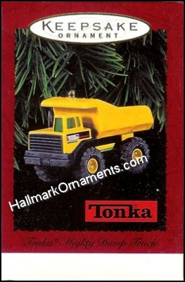 1996 Tonka Mighty Dump Truck DB