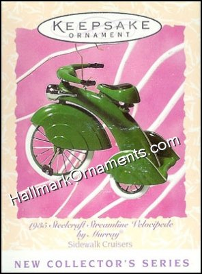 1997 1935 Steelcraft Velocipoede, Sidewalk Cruisers #1