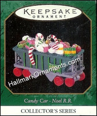 1997 Candy Car, Noel R.R. #9, Miniature